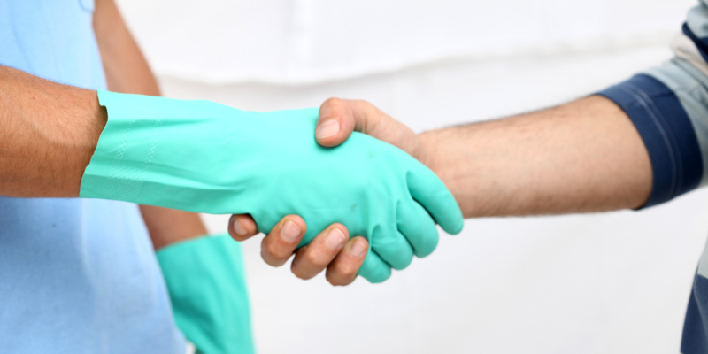 When looking for a contract cleaning company
